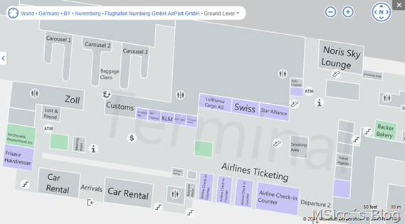 First venue maps available for Germany on Bing Maps