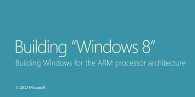 "Windows 8 on ARM (""WOA"")"