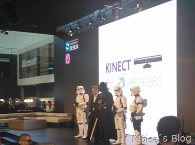 The force is with Microsoft at CeBIT 2012