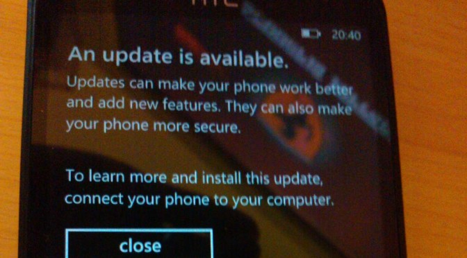 (Updated) Update shows up for unlocked HTC Titan and HTC Radar