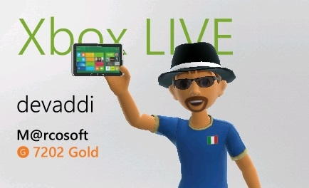Get a free Windows 8 tablet for your Xbox Live avatar!