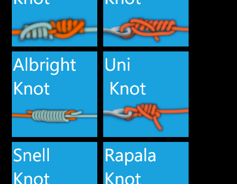 Fishing Knots + update to version 1.6 and some other changes