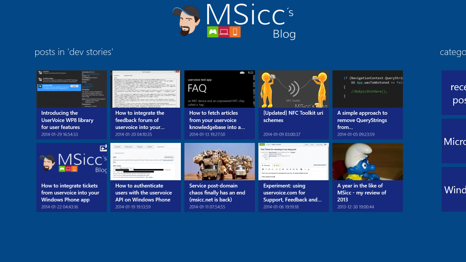 MSicc's Blog for Windows 8