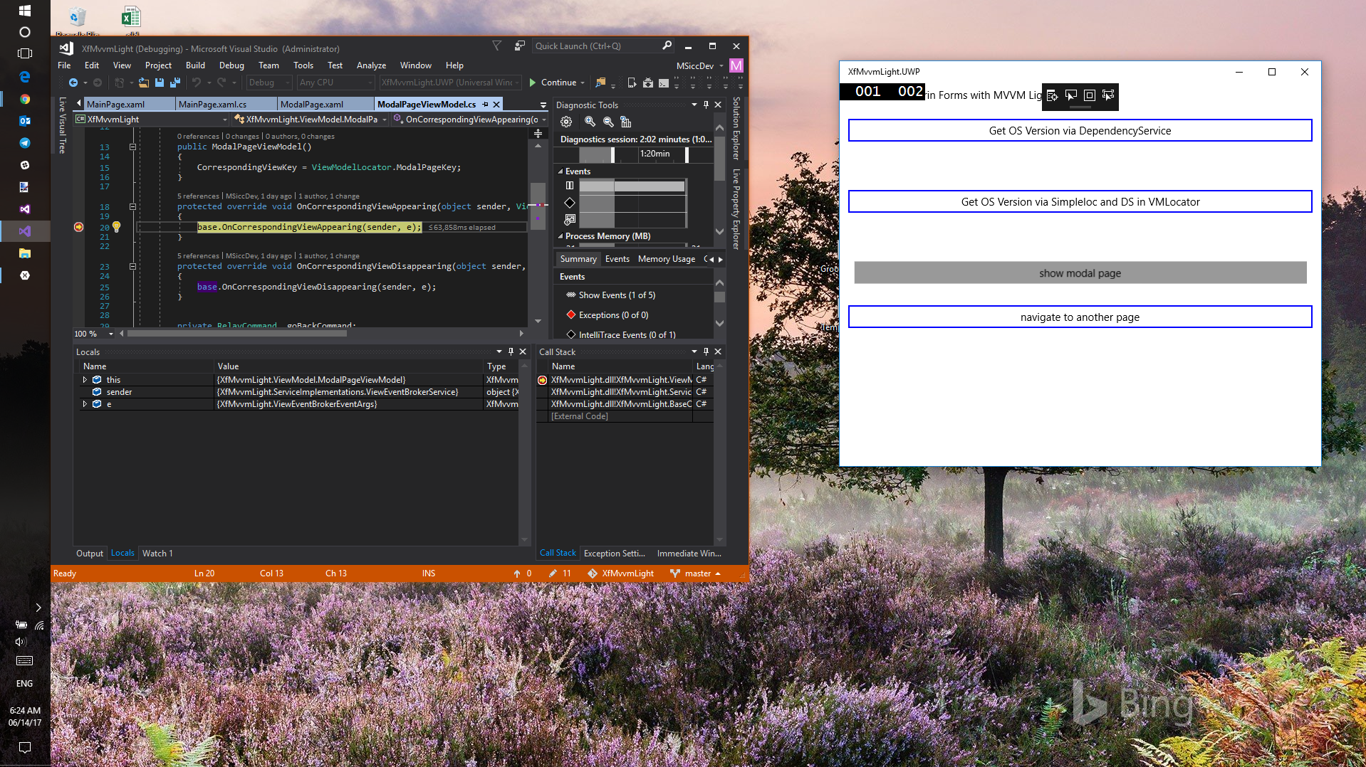 [Updated] Xamarin Forms, the MVVMLight Toolkit and I: navigation and modal pages